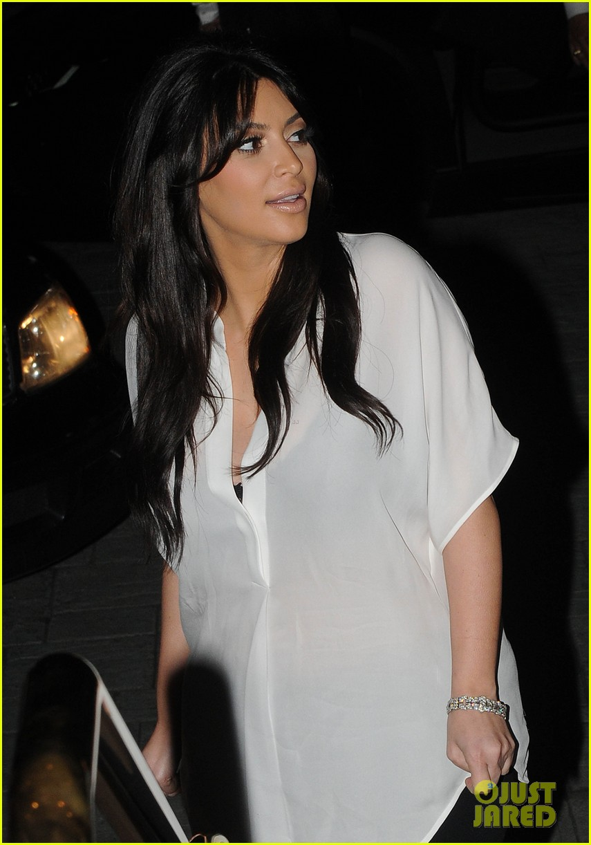 kim kardashian kanye west valentines dinner date 022812914