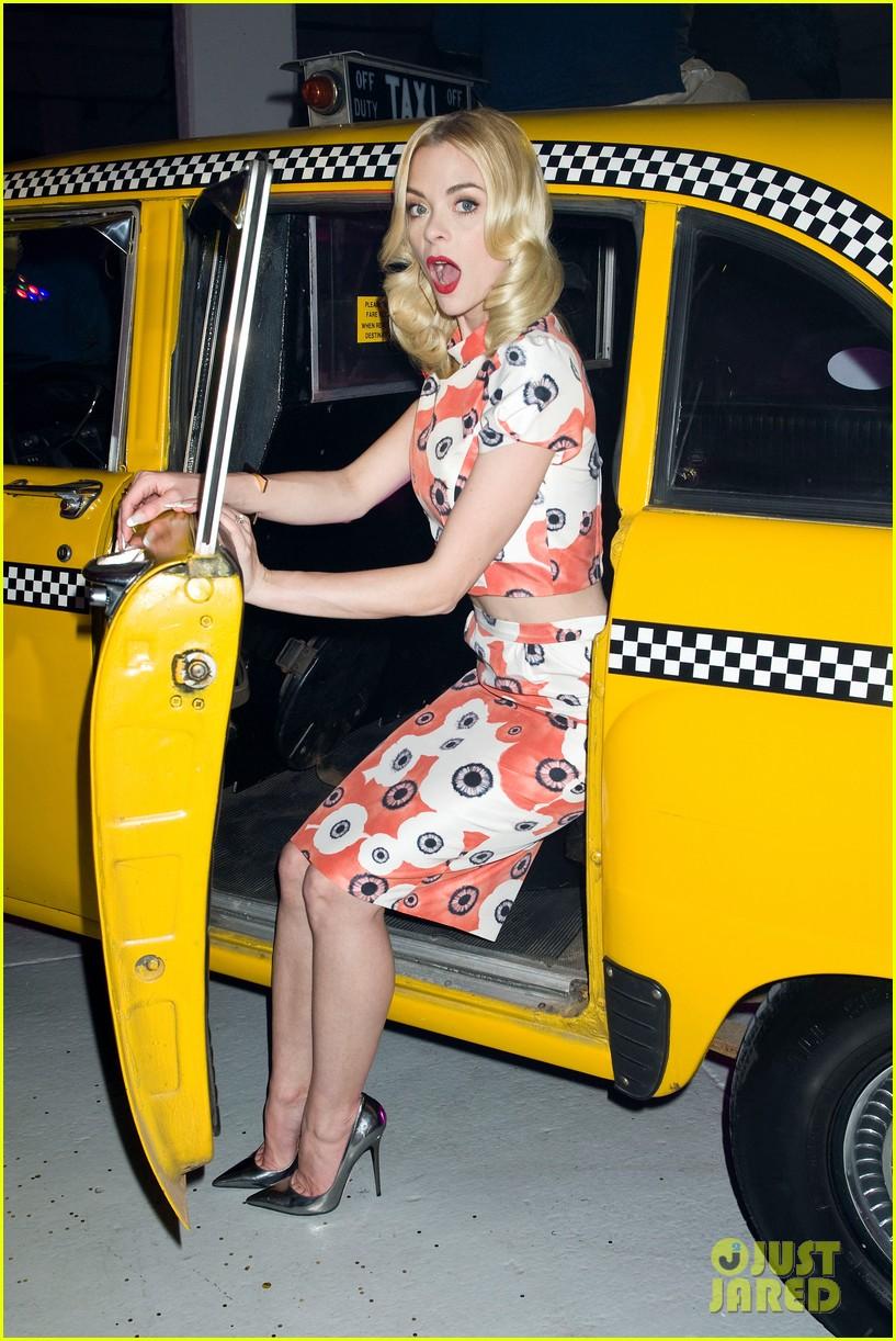 jaime king taxi cab cutie at kate spade celebration 022807847