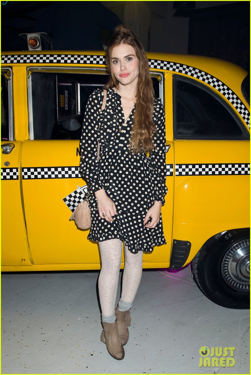 jaime king taxi cab cutie at kate spade celebration 05