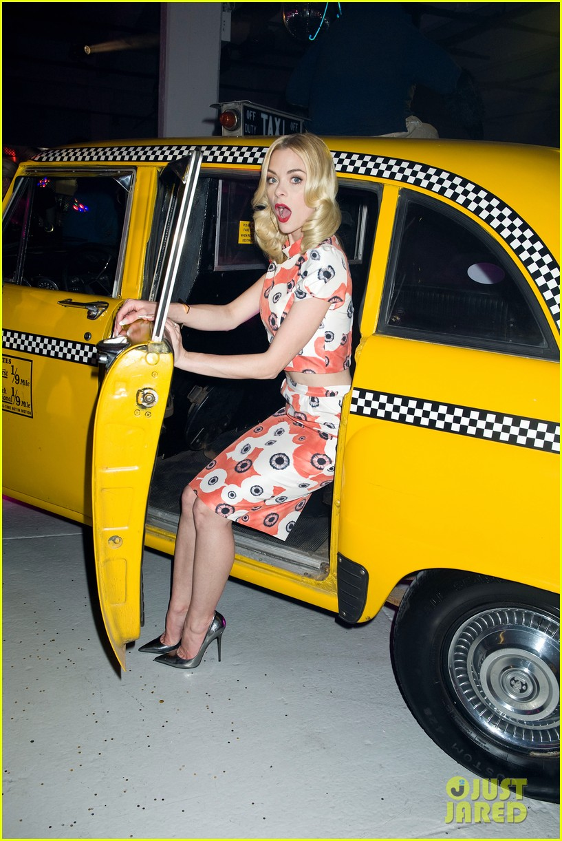 jaime king taxi cab cutie at kate spade celebration 092807854