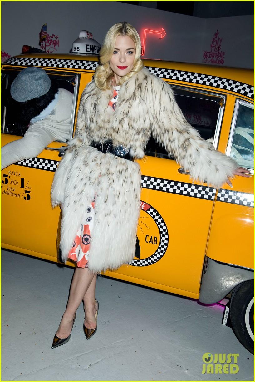 jaime king taxi cab cutie at kate spade celebration 132807858
