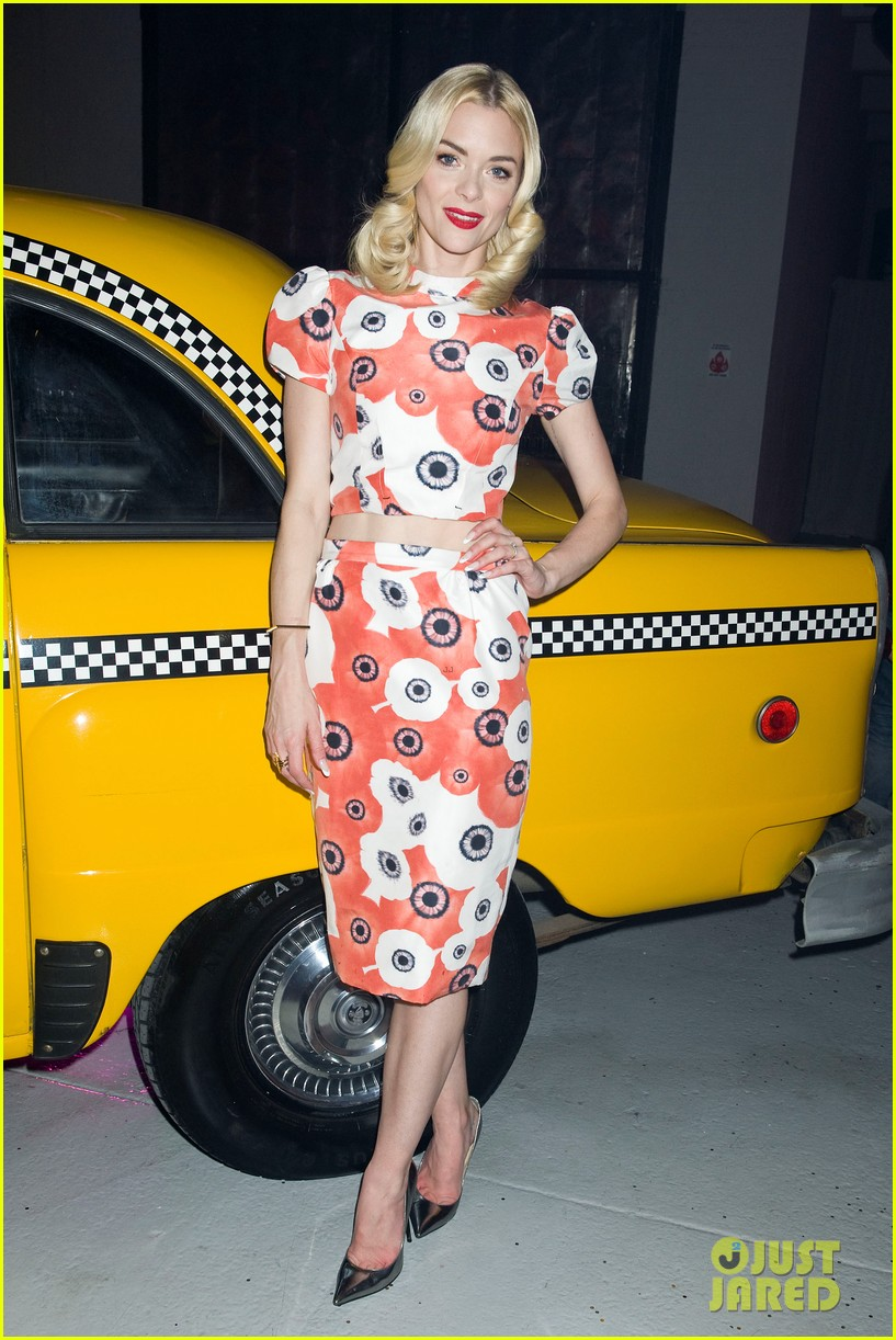jaime king taxi cab cutie at kate spade celebration 152807860