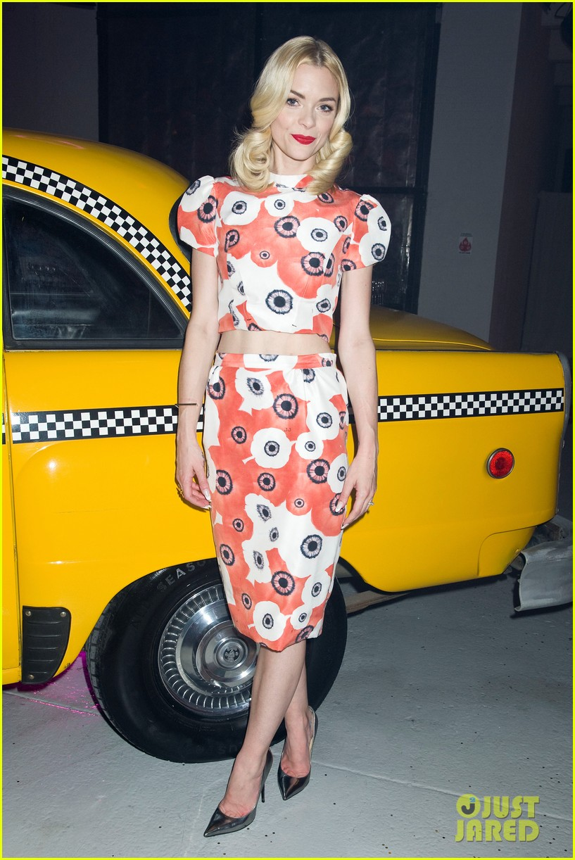jaime king taxi cab cutie at kate spade celebration 172807862