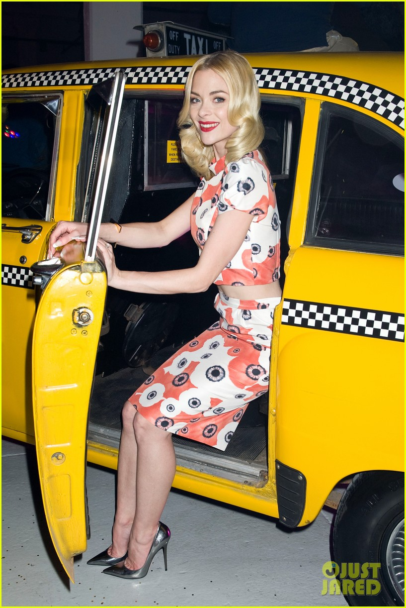 jaime king taxi cab cutie at kate spade celebration 21