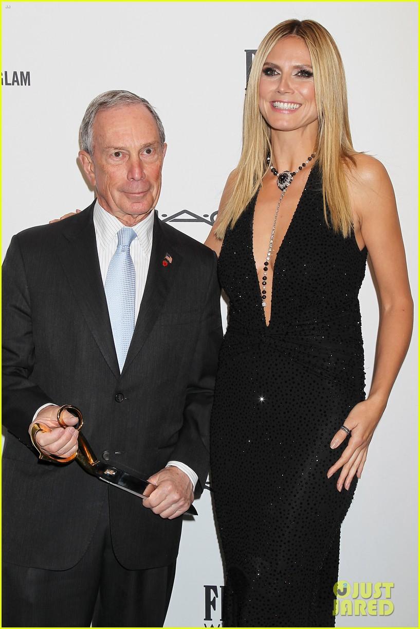 heidi klum anne v amfar new york gala 2013 202806174