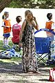 heidi klum martin kirsten beach day with the kids 48