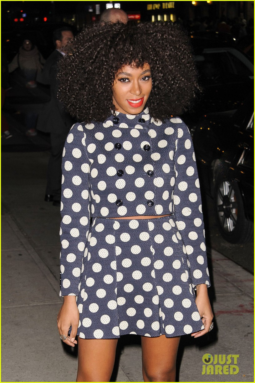 solange knowles dont let me down live on david letterman 012822244