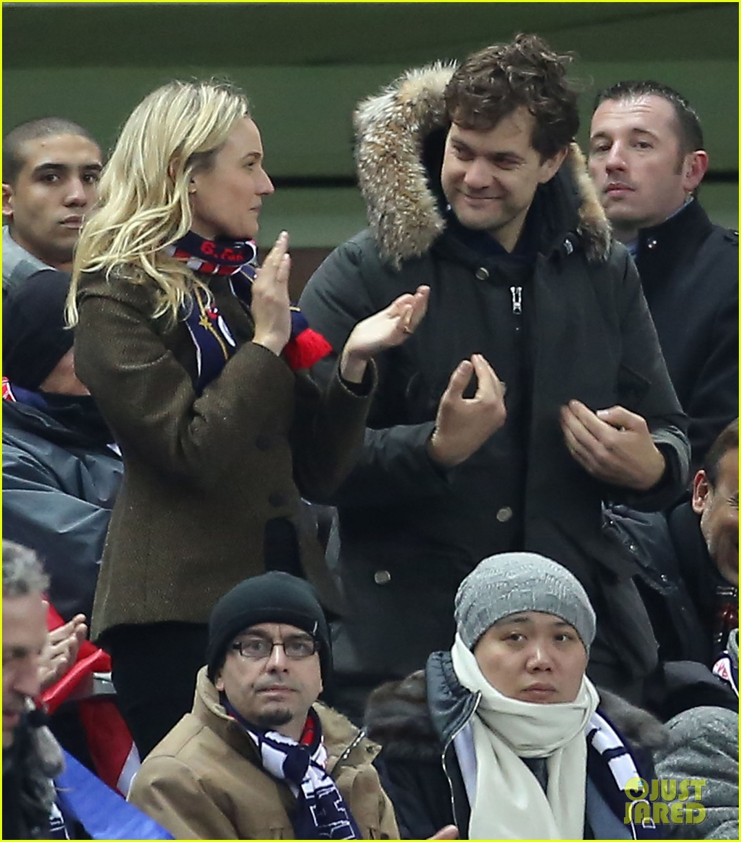 joshua jackson diane kruger germany vs france game 042806235