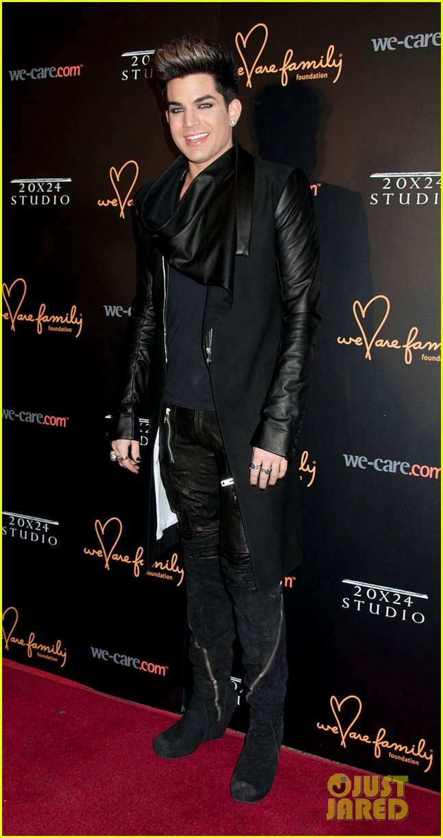 adam lambert we are family foundation gala 01