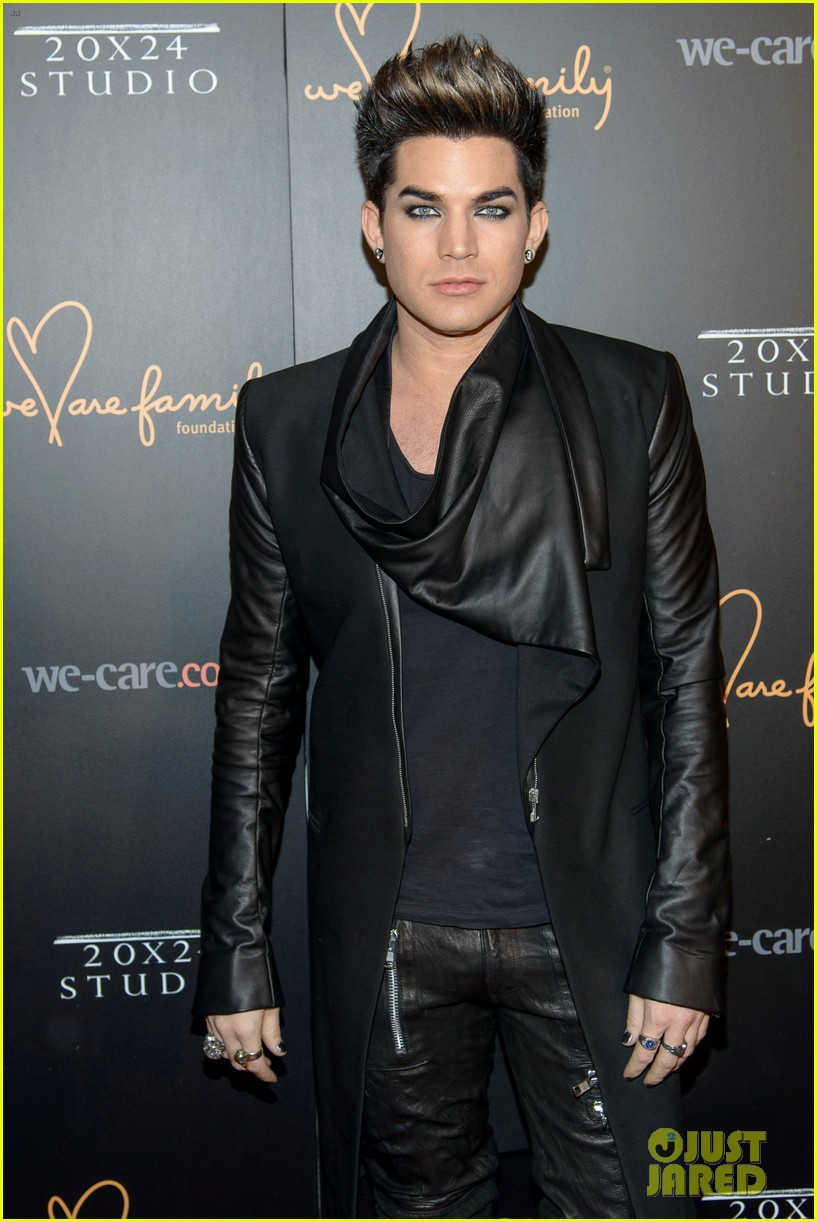adam lambert we are family foundation gala 05