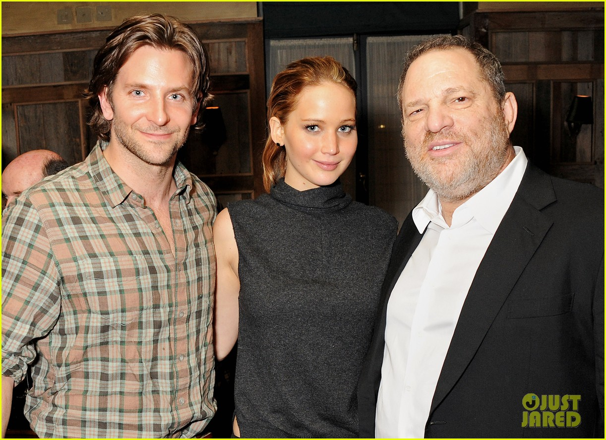 jennifer lawrence bradley cooper silver linings playbook dinner 032807673