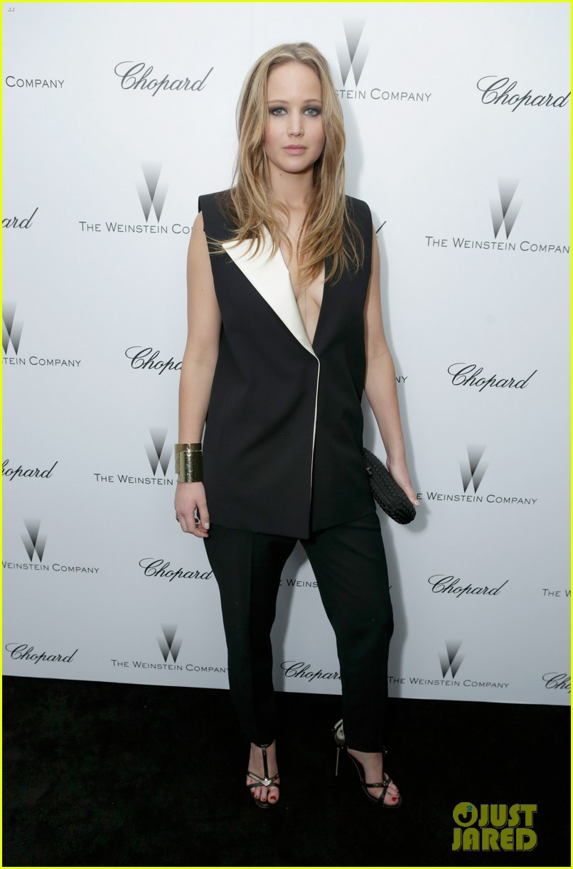jennifer lawrence weinstein company pre oscars party 2013 012818343