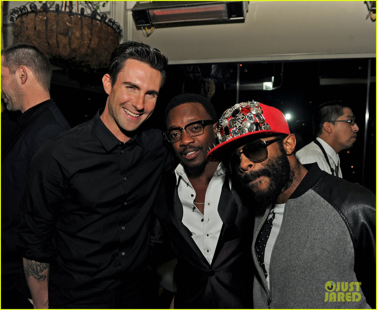 adam levine sting maroon 5 grammys after party 2013 03