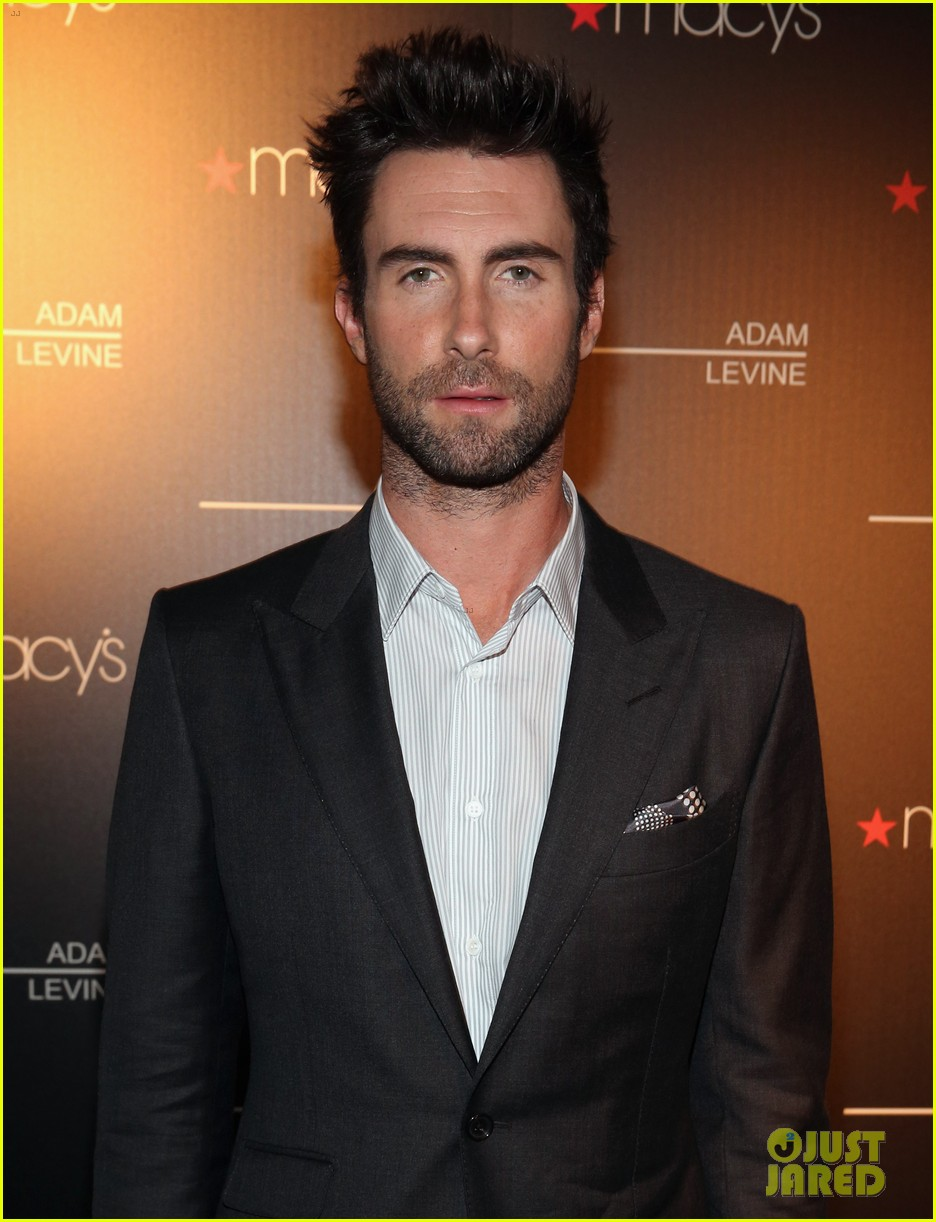 adam levine fragrance launch event 062806086
