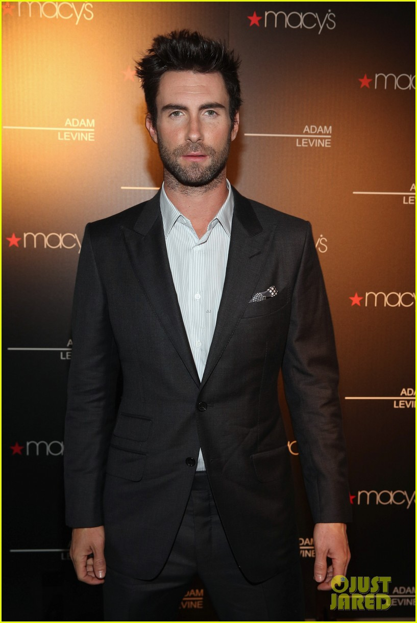 adam levine fragrance launch event 072806087