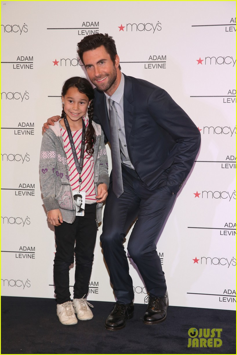 Adam Levine Fragrance Launch Meet Greet Photo 2806994 Adam