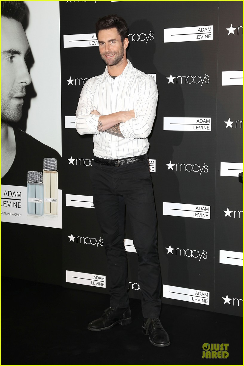 adam levine fragrance launch in new york city 012813199