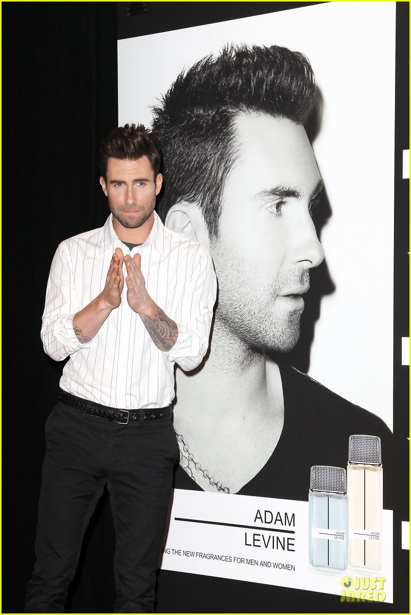 adam levine fragrance launch in new york city 022813200