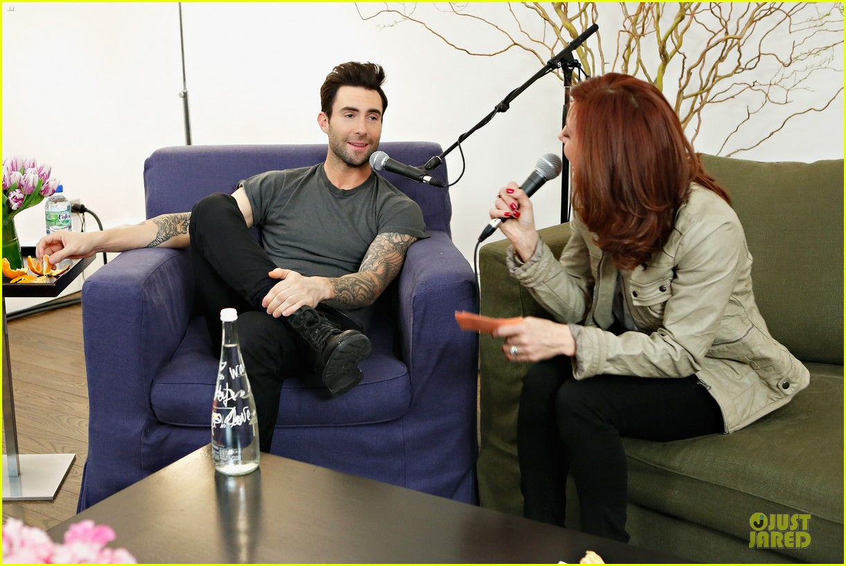 adam levine fragrance launch in new york city 032813201