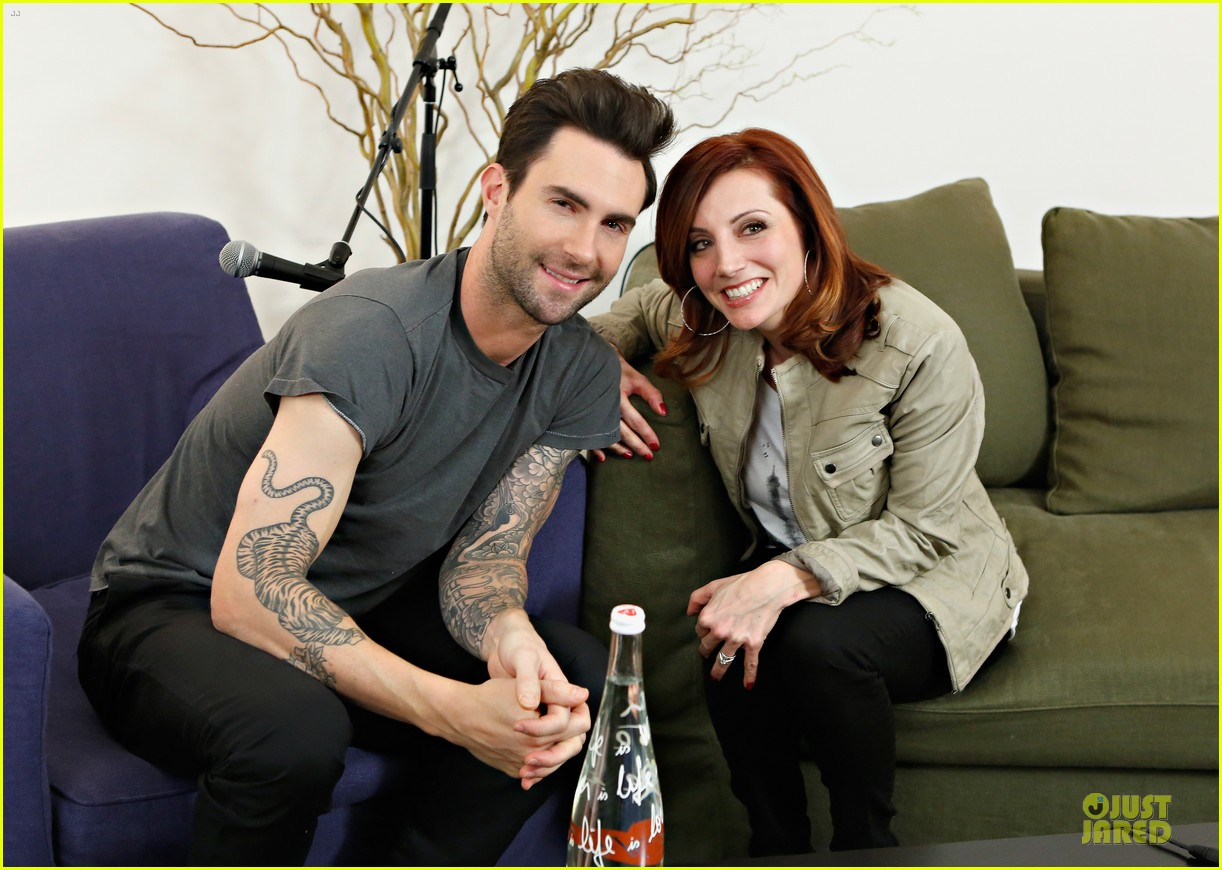 adam levine fragrance launch in new york city 052813203