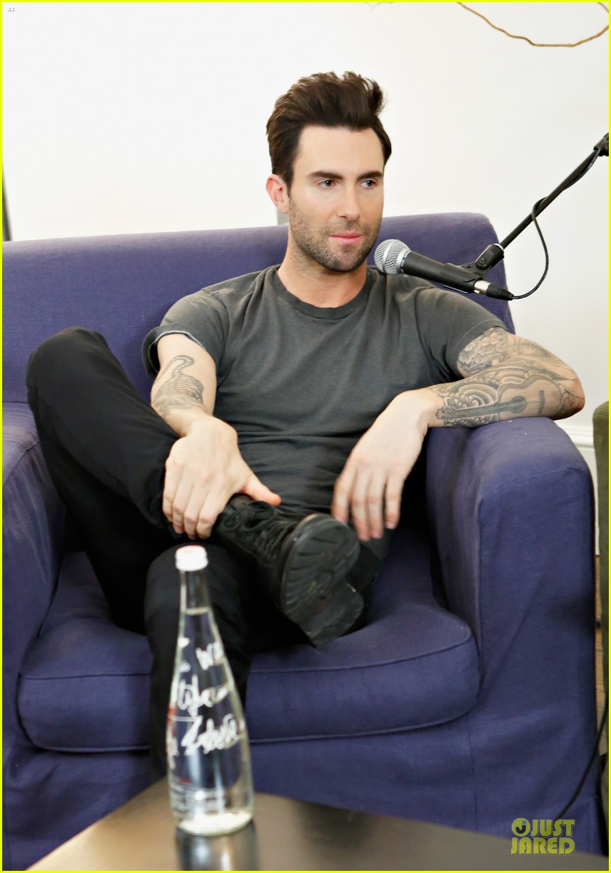 adam levine fragrance launch in new york city 112813209