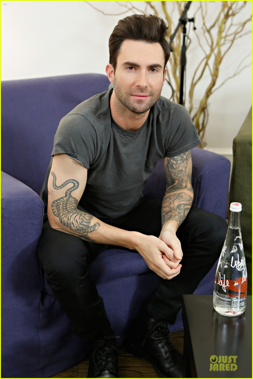 adam levine fragrance launch in new york city 122813210