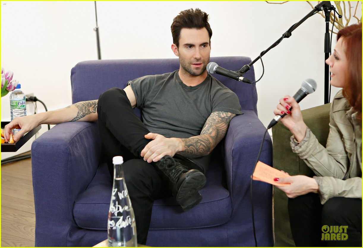 adam levine fragrance launch in new york city 14