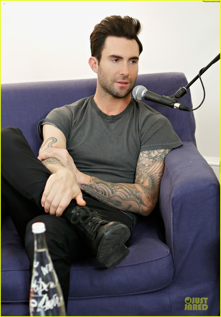 adam levine fragrance launch in new york city 152813213