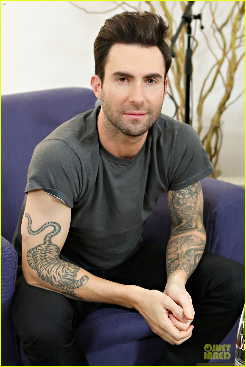 adam levine fragrance launch in new york city 192813217