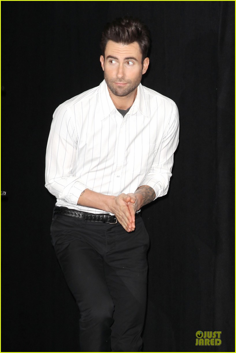 adam levine fragrance launch in new york city 212813219