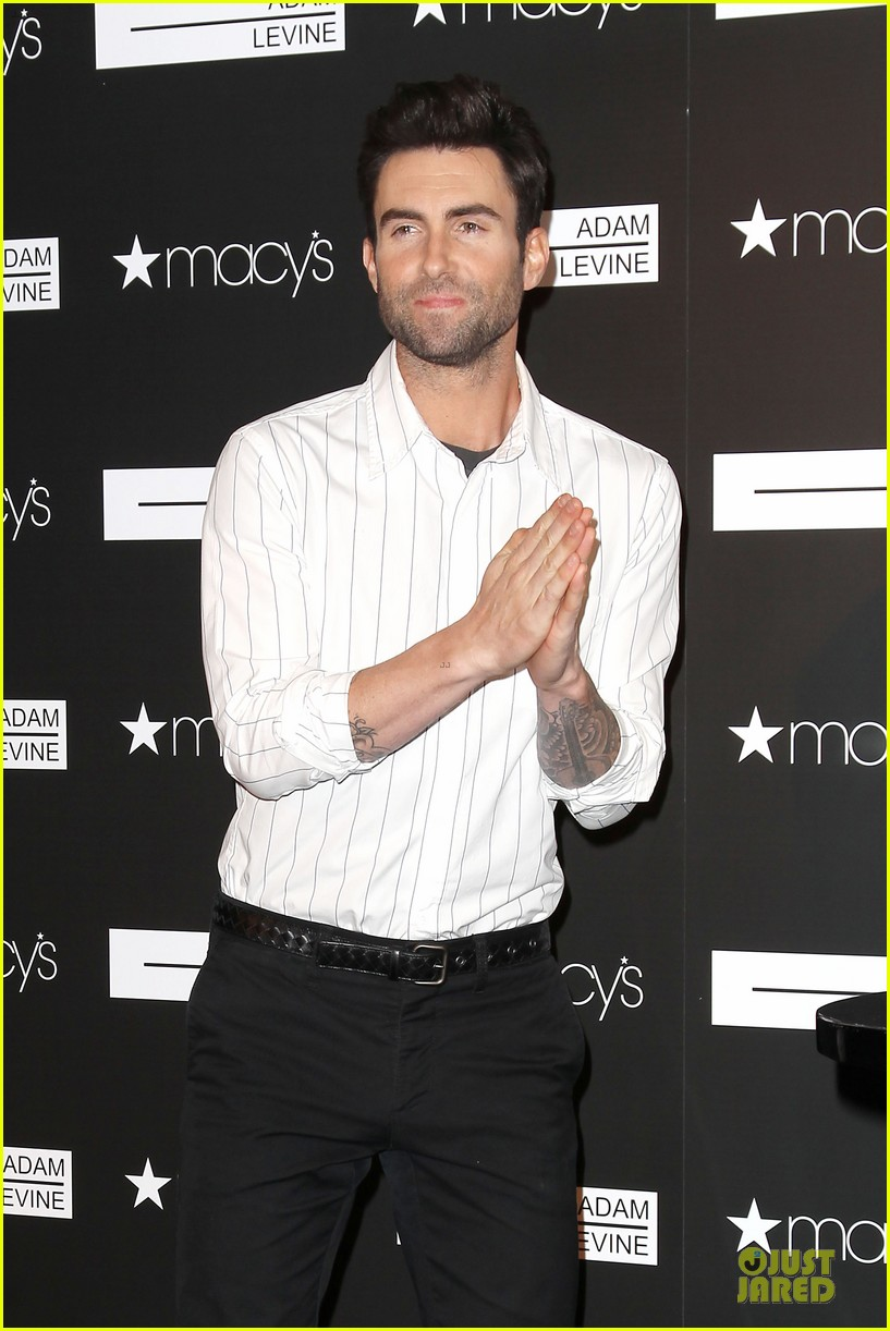 adam levine fragrance launch in new york city 222813220