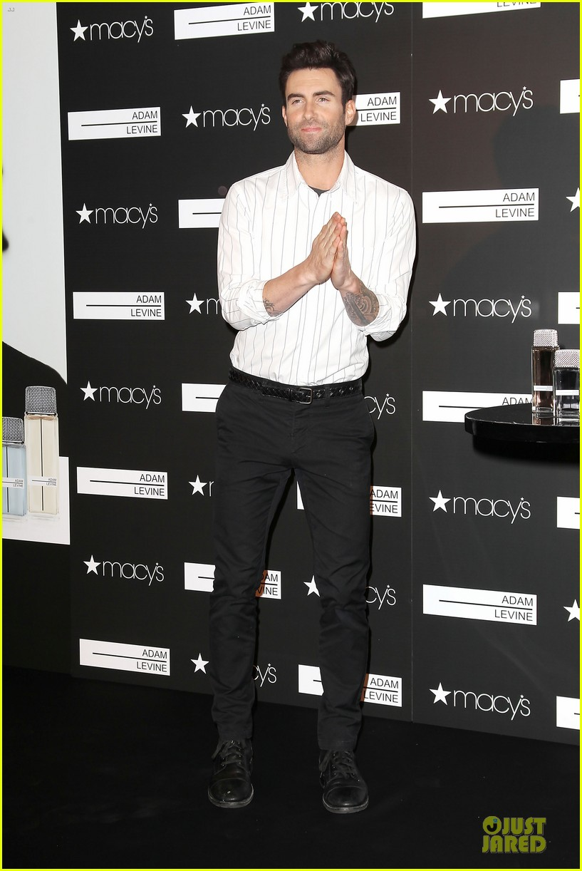 adam levine fragrance launch in new york city 232813221