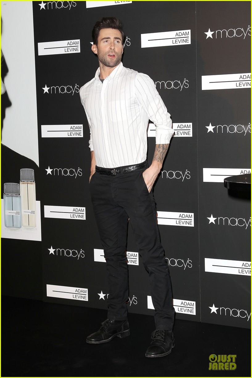 adam levine fragrance launch in new york city 252813223