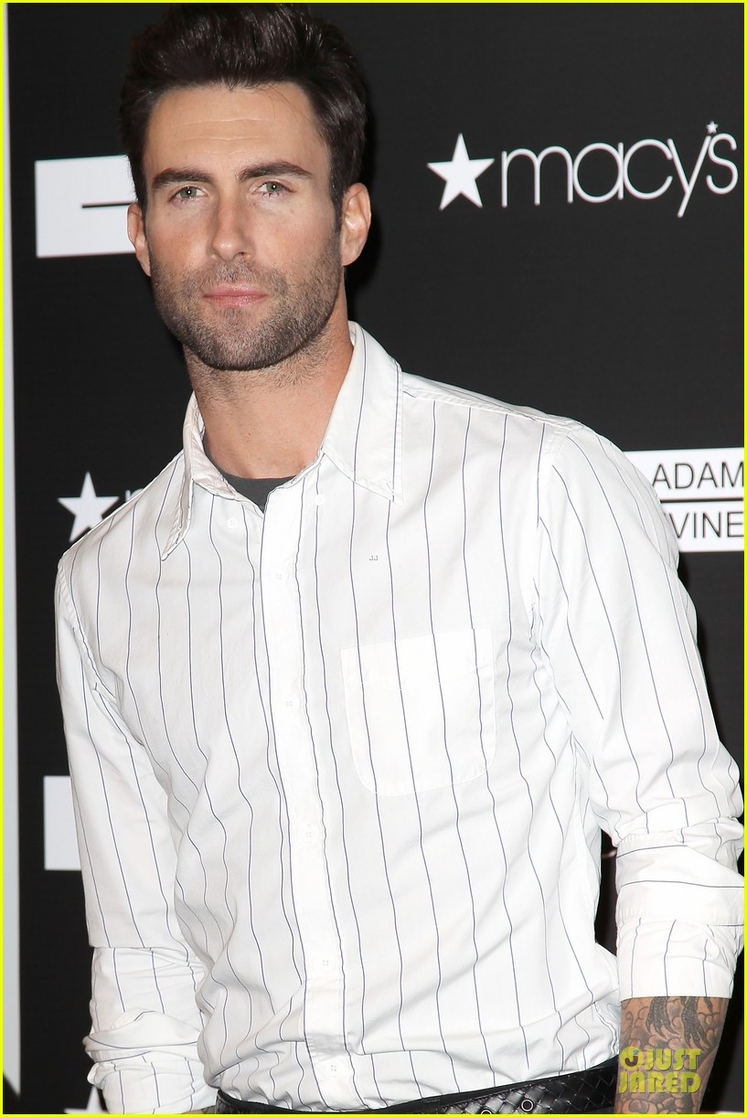 adam levine fragrance launch in new york city 302813228