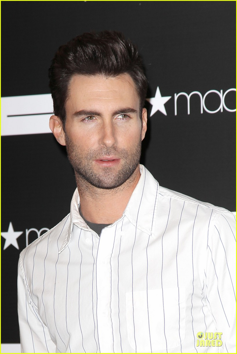 adam levine fragrance launch in new york city 312813229