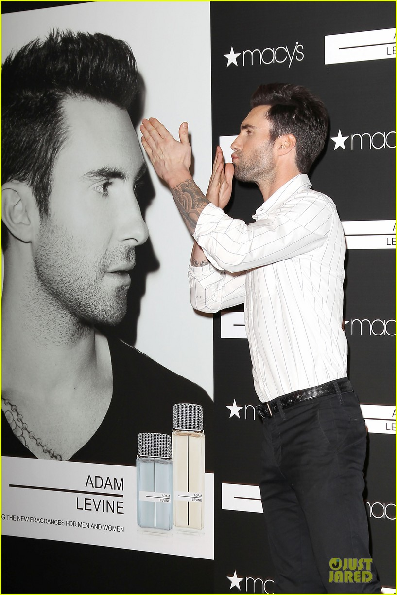 adam levine fragrance launch in new york city 332813231