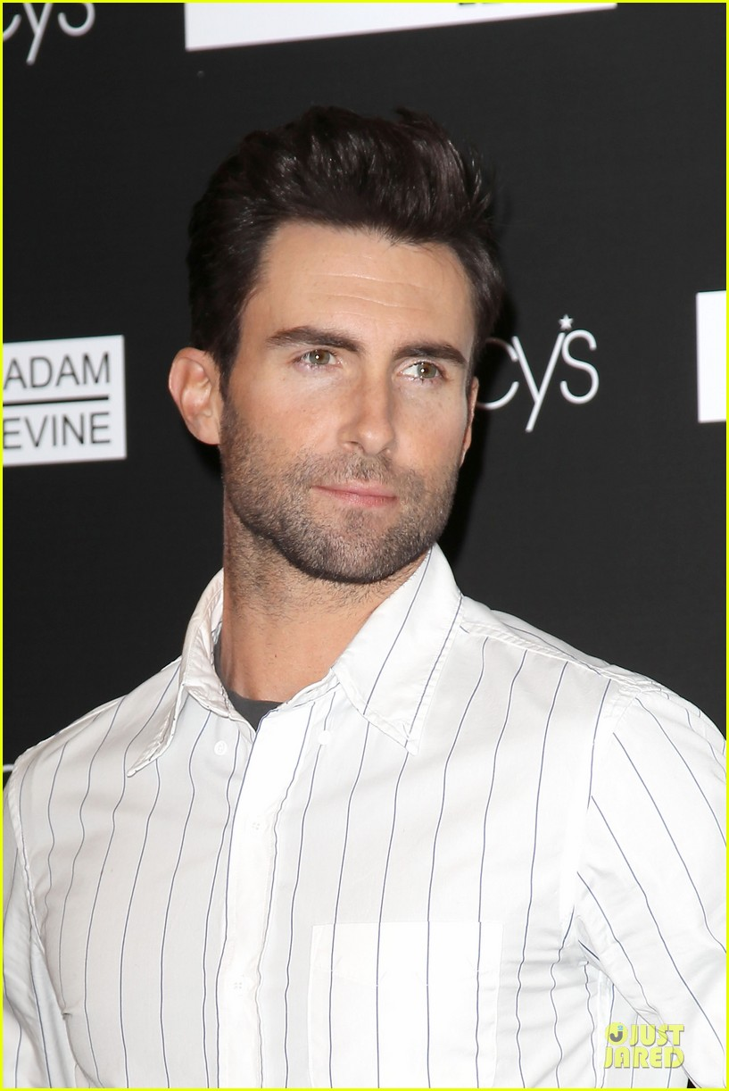 adam levine fragrance launch in new york city 342813232