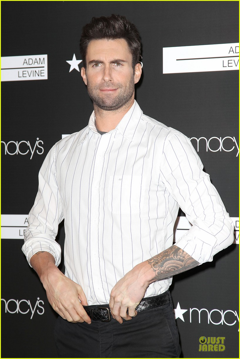 adam levine fragrance launch in new york city 362813234