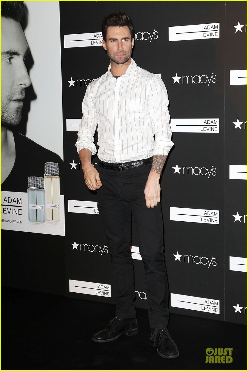 adam levine fragrance launch in new york city 382813236