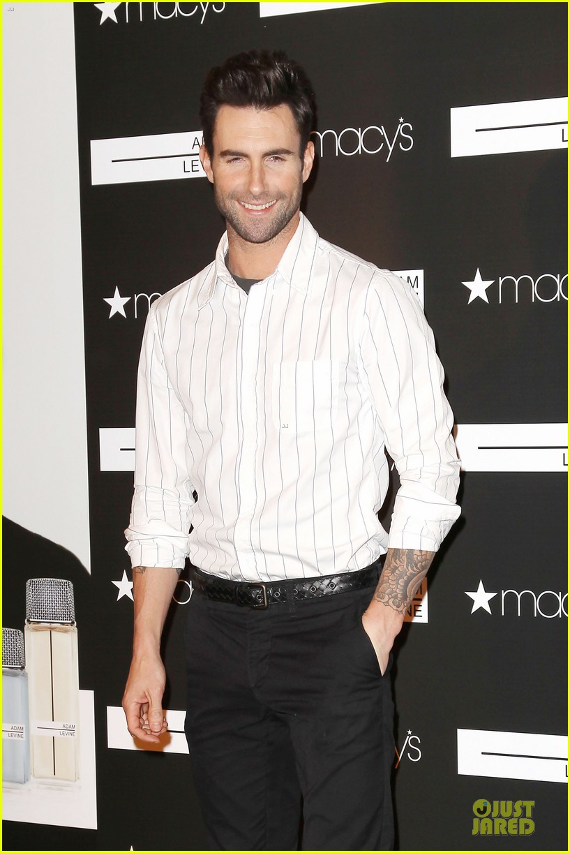 adam levine fragrance launch in new york city 422813240