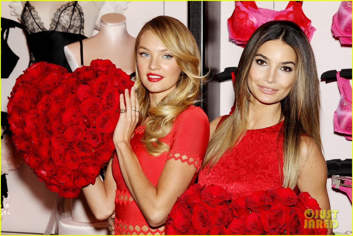 a660d74e253 Lily Aldridge   Candice Swanepoel  Victoria s Secret Valentine s Event!