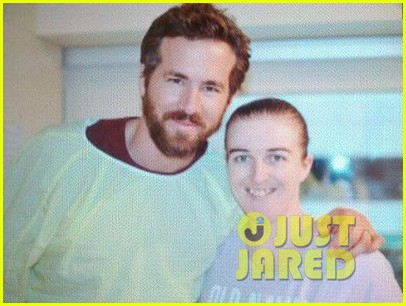 blake lively ryan reynolds visit sick children in hospital 052821857