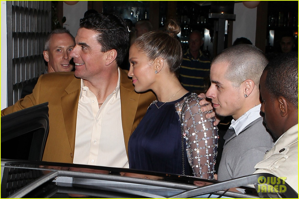 jennifer lopez casper smart cecconis couple 092808269
