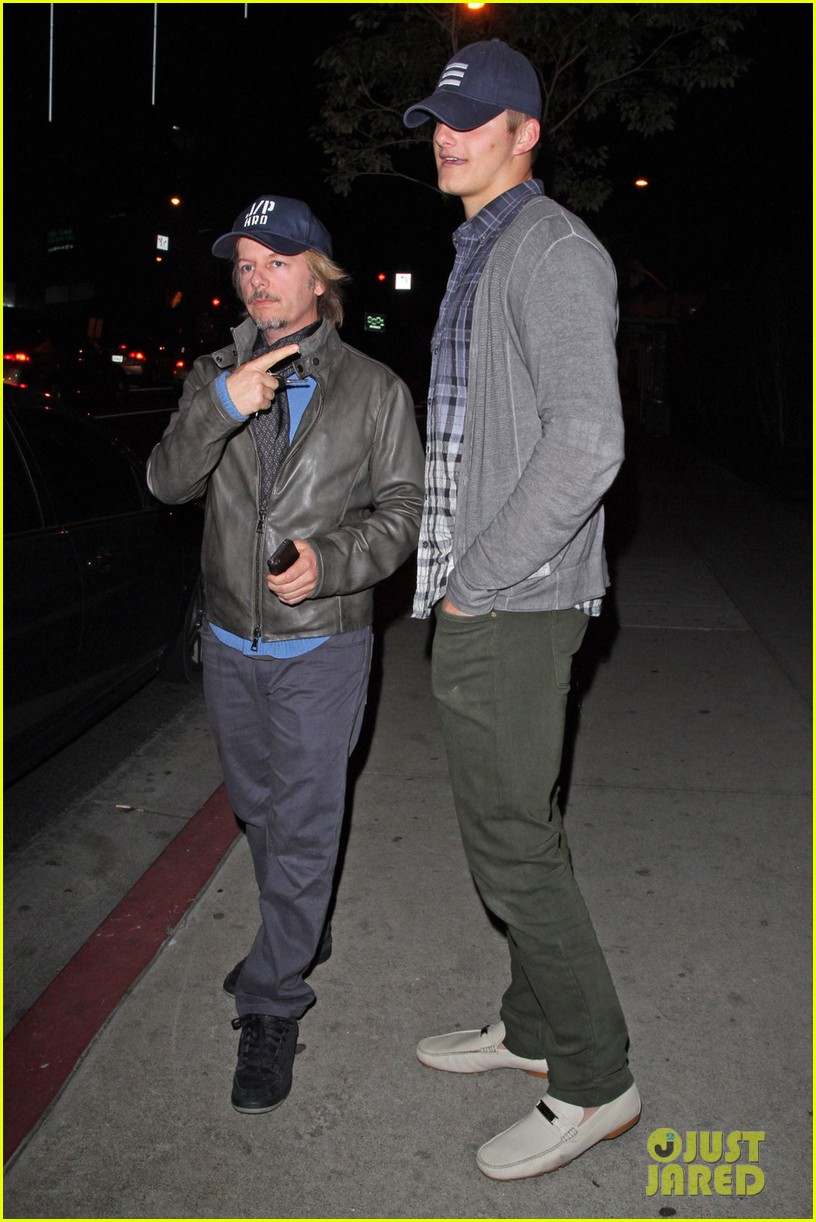 alexander ludwig boa steakhouse dinner with david spade 012811709