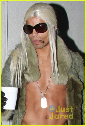 madonna kabbalah costume party with shirtless brahim zaibat 04