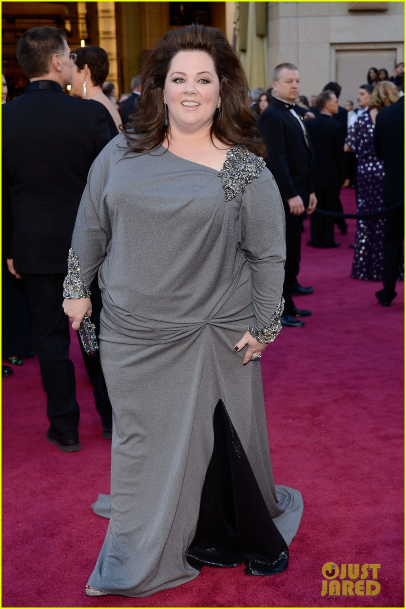 melissa mccarthy oscars 2013 red carpet 06