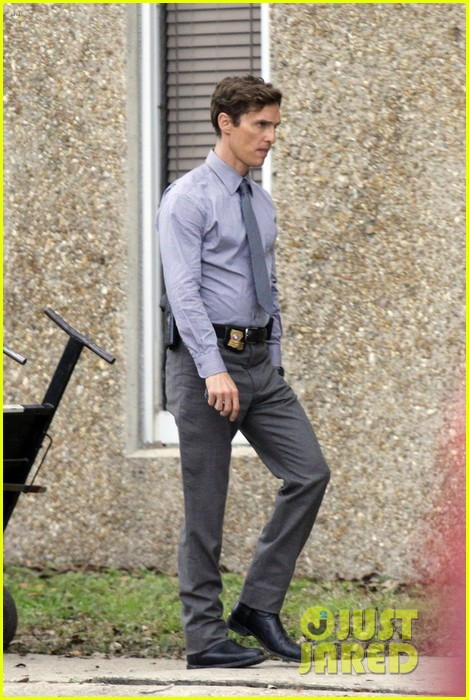 matthew mcconaughey true detectives set break 05