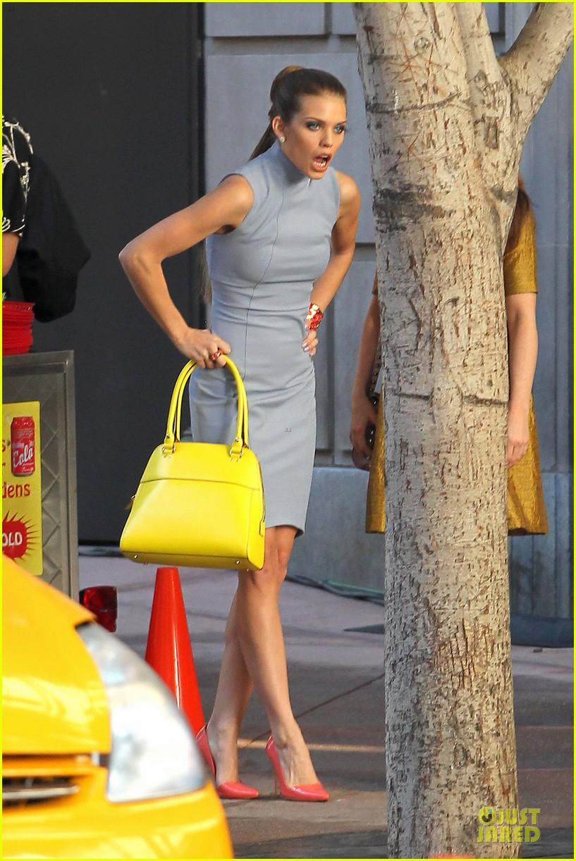 annalynne mccord new york glamour for 90210 012803098