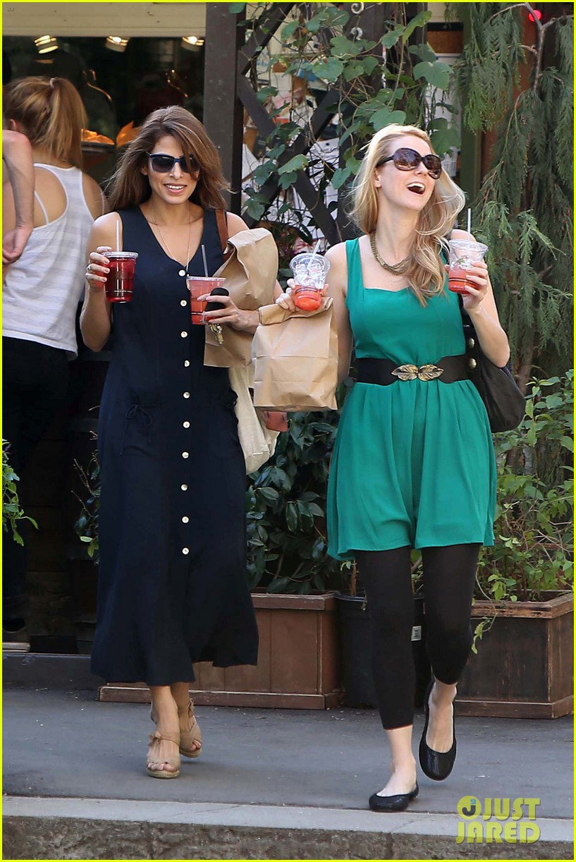 eva mendes the trails at griffith park lunch 042813724