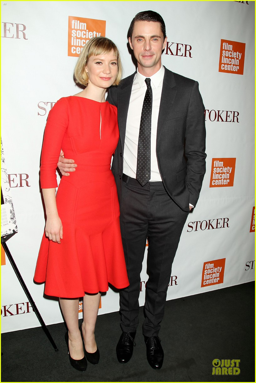 mia wasikowska matthew goode stoker new york screening 01